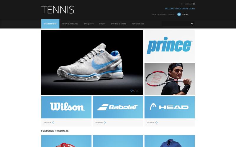 Tennis tillbehör ZenCart mall