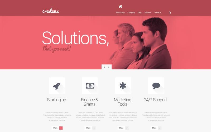 Business for Bold Start WordPress-tema