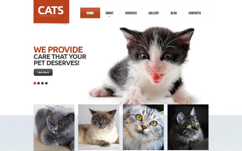 Cat Responsive Drupal-mall