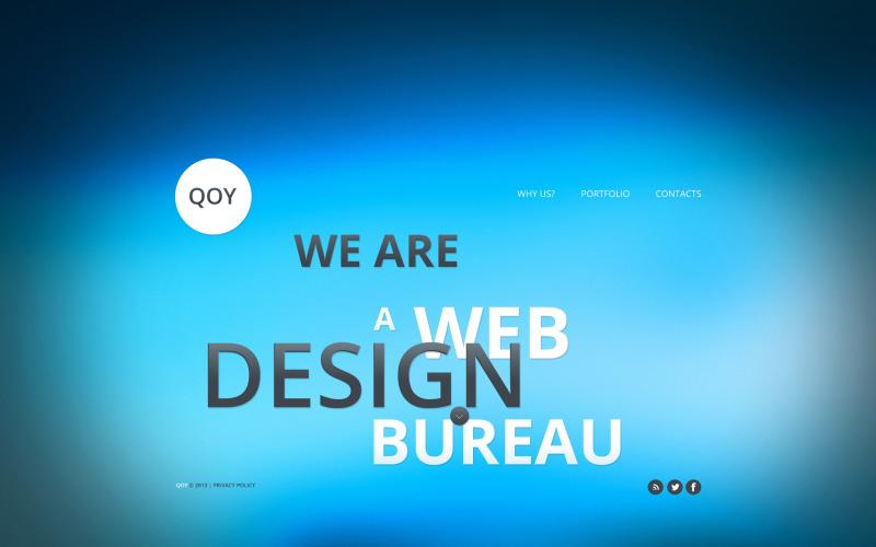 Design Studio webbplats mall