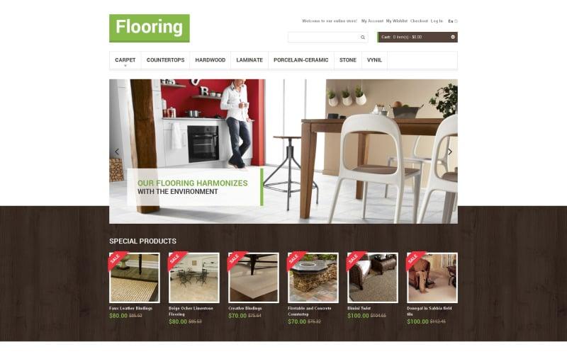 Flooring Store Magento Theme