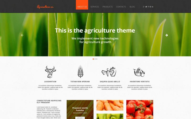 Fruktresponsiv webbplatsmall
