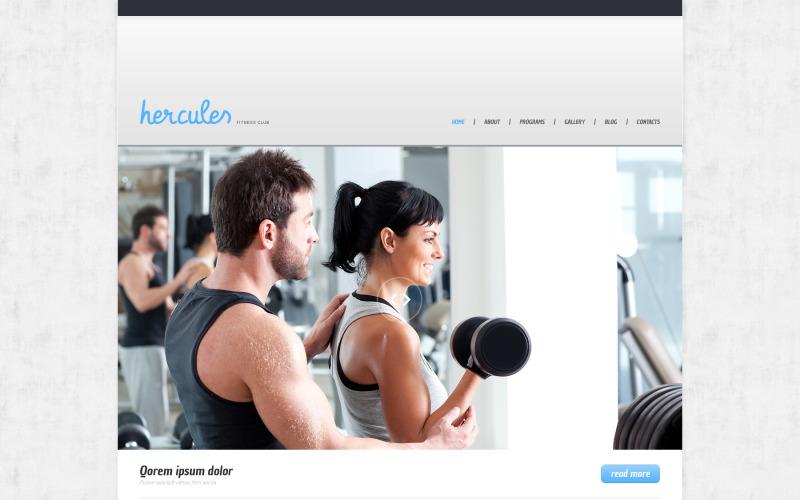Адаптивная тема WordPress для фитнеса