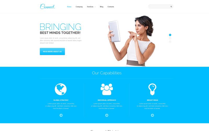 Communications Responsive WordPress-tema