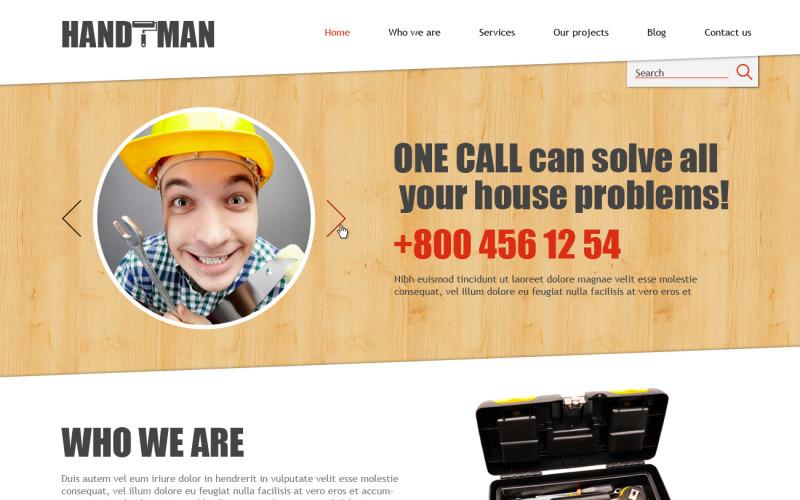 Home Repairs Responsive Joomla Template