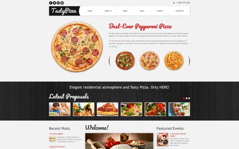 Pizza för att döda Hunger Joomla-mall