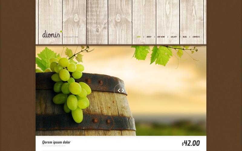 Winery Responsive WordPress-tema