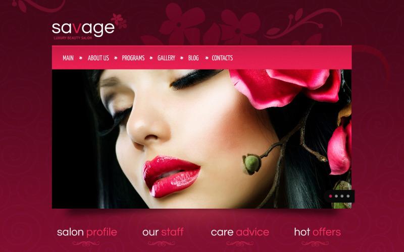 Drupal mall för skönhetssalong