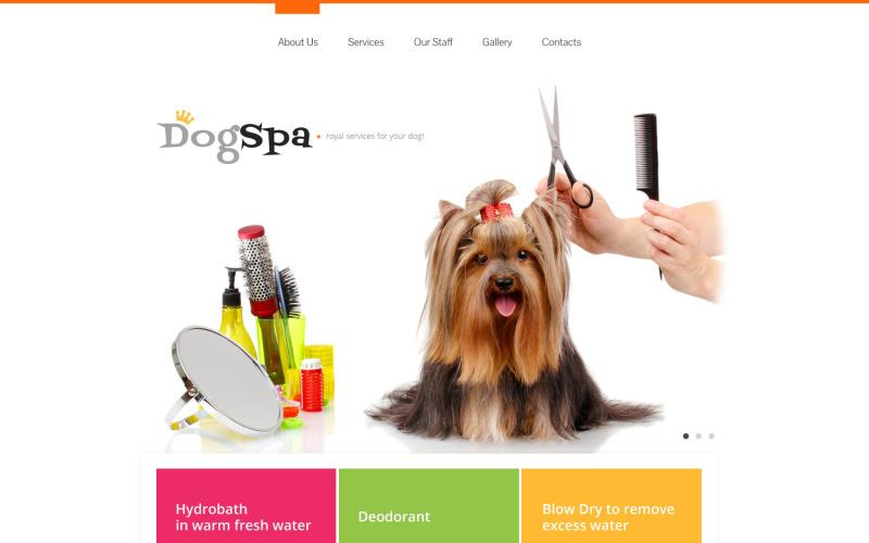 Hundresponsiv webbplatsmall