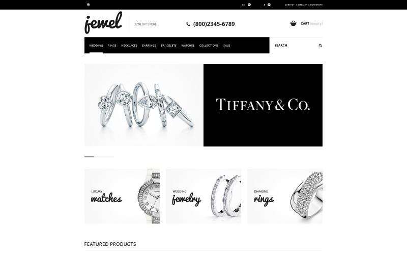 Jewelry Boutique PrestaShop Theme