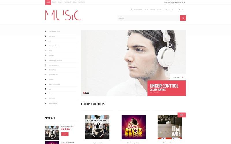 Ljud WooCommerce-tema