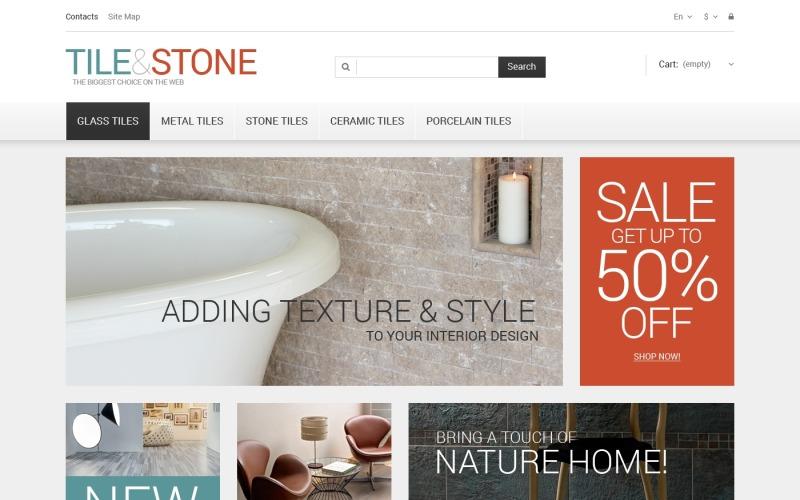 Tile  Stone PrestaShop Theme