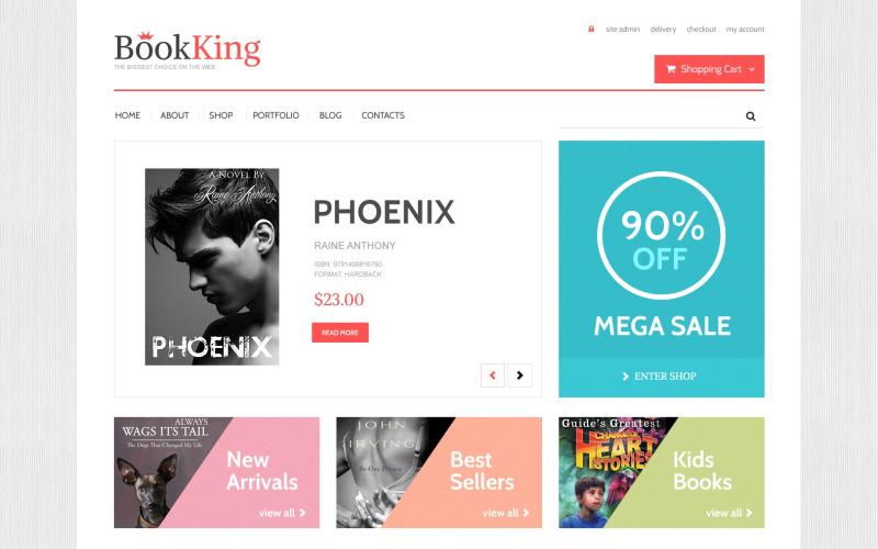 BookKing WooCommerce-tema