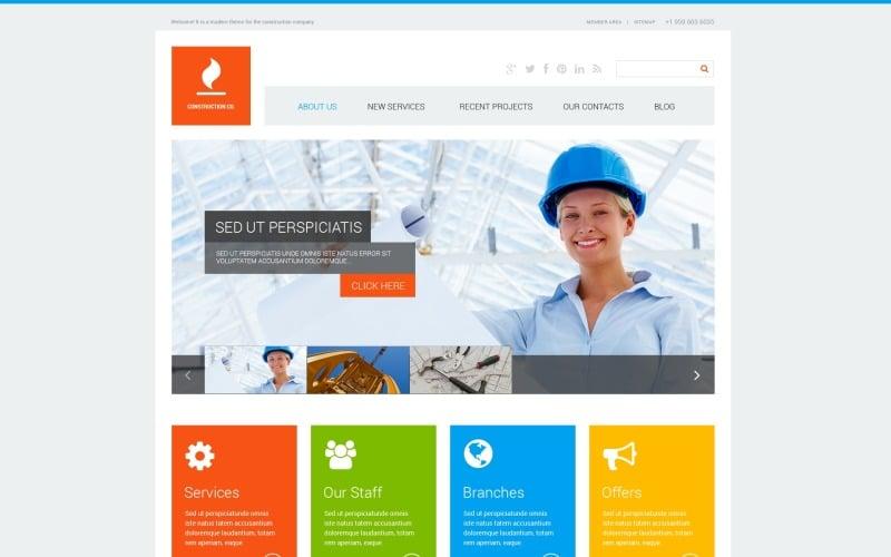 Construction Co WordPress-tema