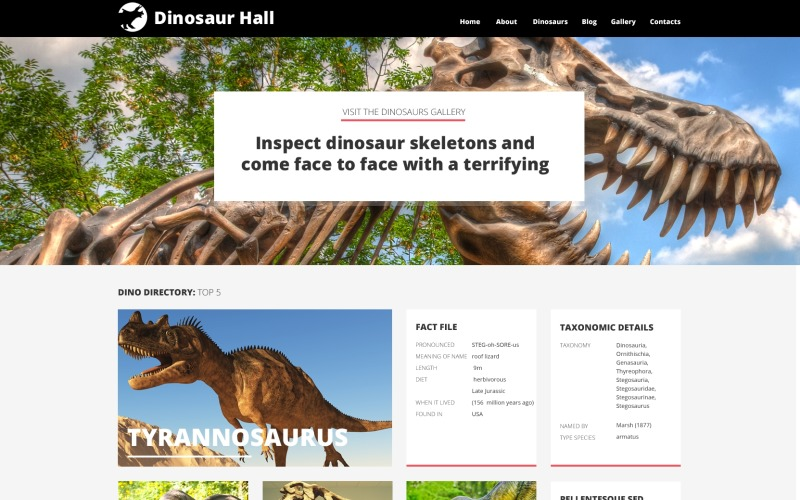 Museum Responsive WordPress Theme