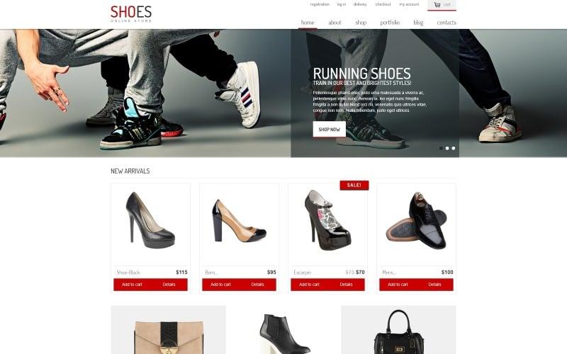 Shoe Store Responsive WooCommerce Theme