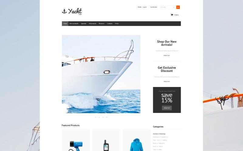 Yacht Club ZenCart-mall