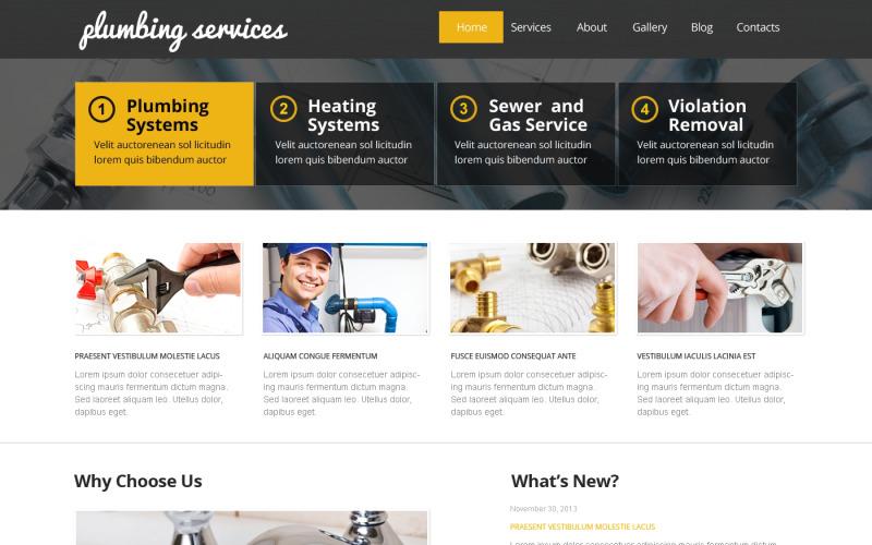 Best Plumbing WordPress Theme