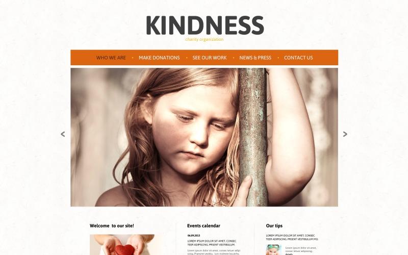Child Charity Responsive Joomla-mall