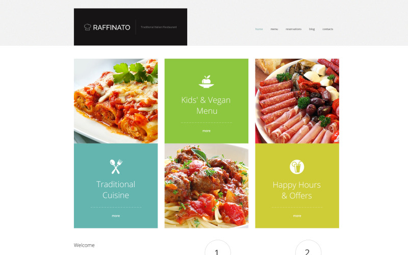 Fancy Restaurant WordPress-tema