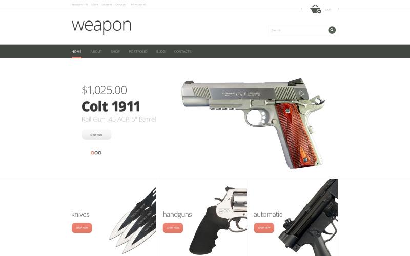 Firearms Advertizing WooCommerce Theme