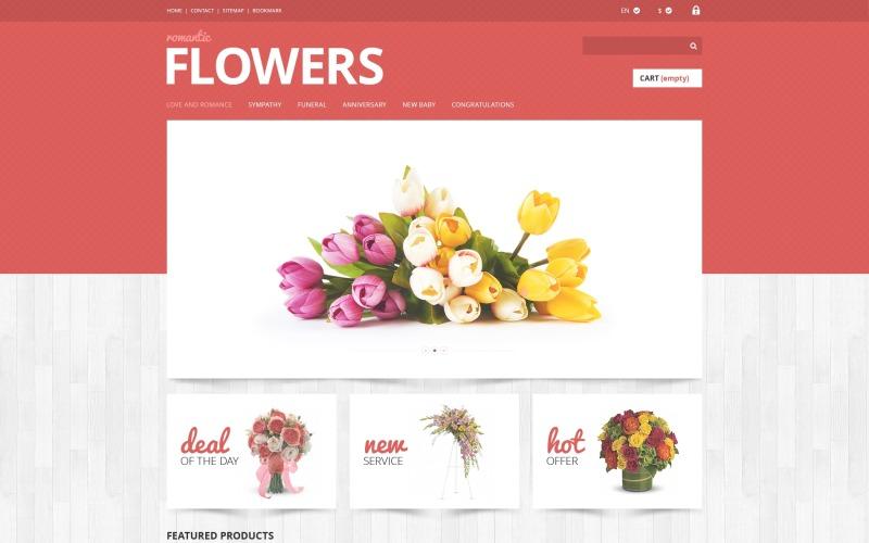 Flowers Shop PrestaShop Theme