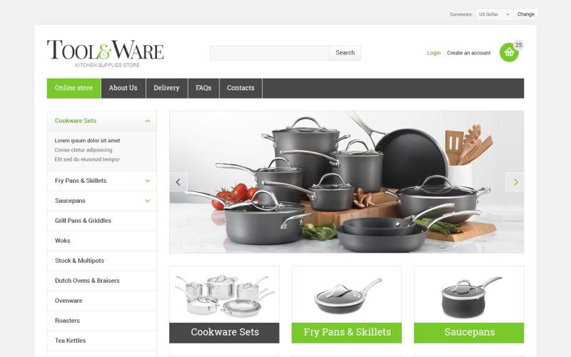 Housewares VirtueMart Template