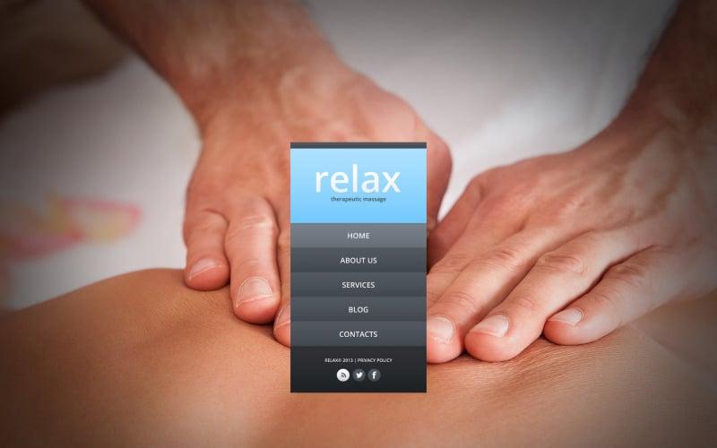 Massage Salon Website Template