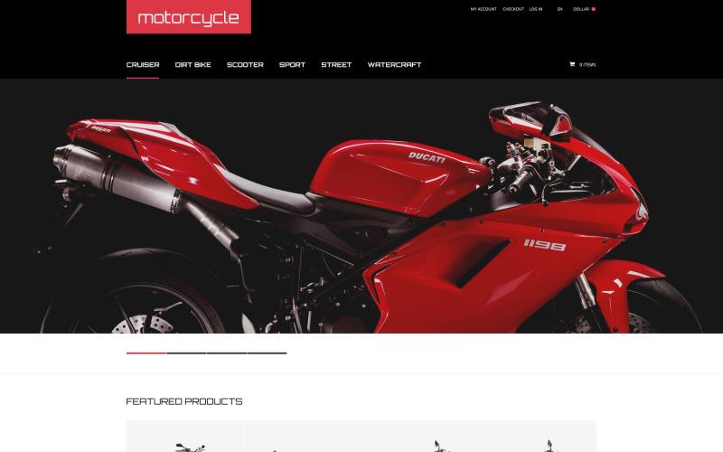 Motorcykel ZenCart mall