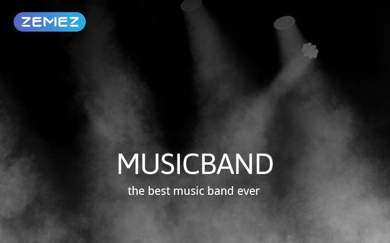 Musicband - Musikband Snygg Joomla-mall