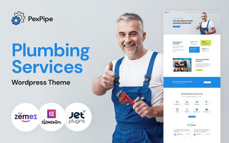 PexPipe - тема WordPress для сантехники