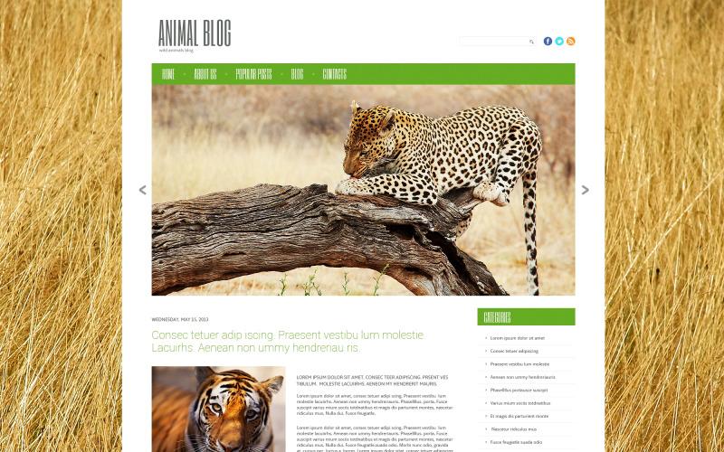 Wild Life Responsive WordPress-tema