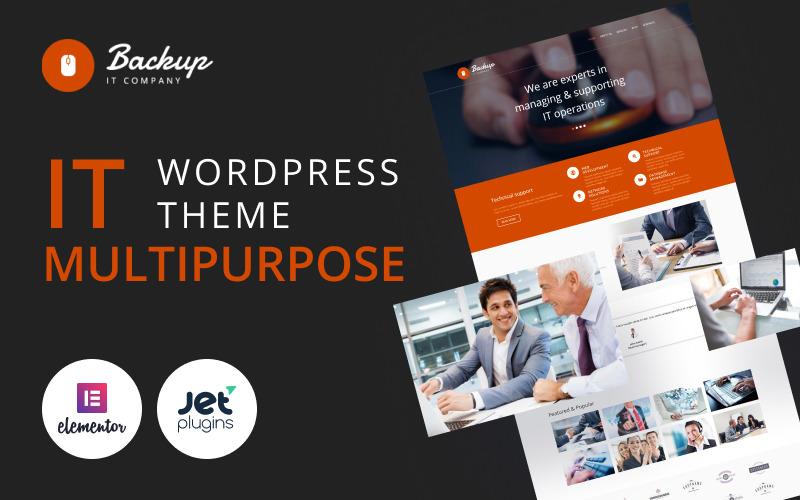 Backup - многофункциональная современная тема WordPress Elementor для бухгалтерского учета