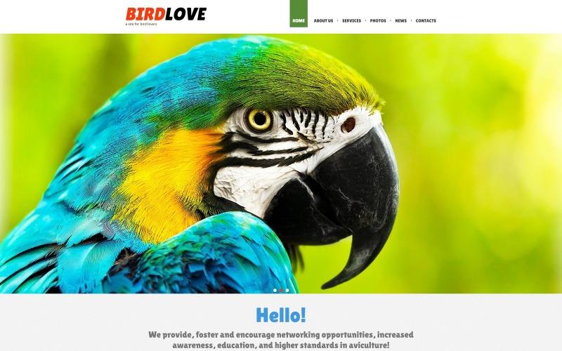 Birds Responsive Joomla-mall
