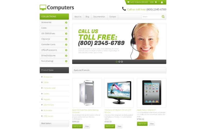 Computer Store Responsive Shopify-tema