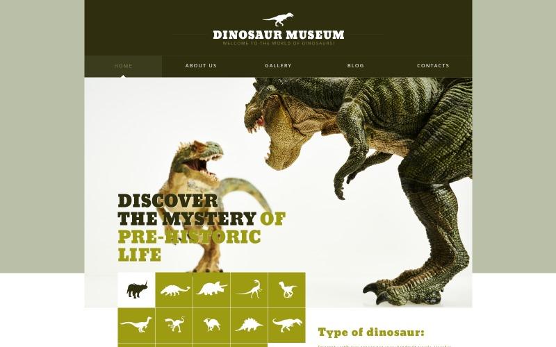 Dinosaur Museum Joomla-mall