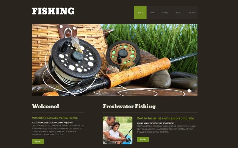 Duyarlı Balıkçılık WordPress Teması