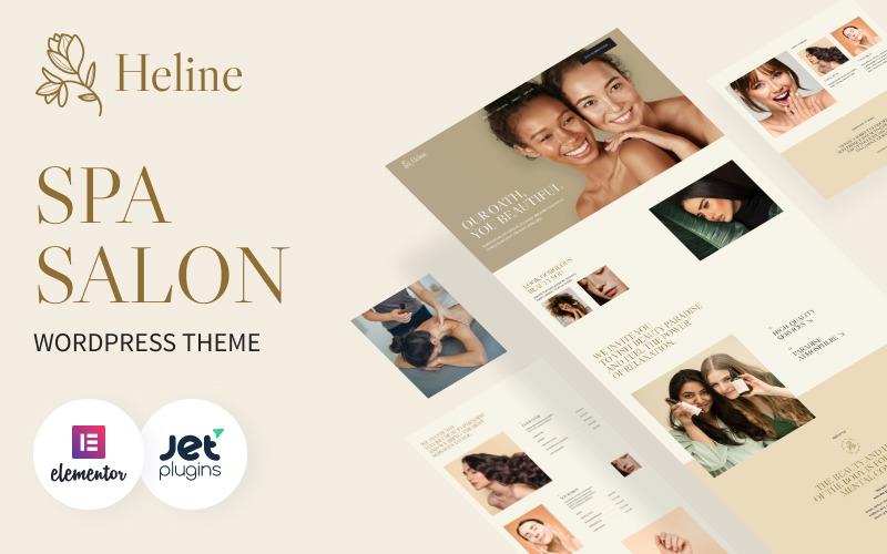 Heline - WordPress-tema för skönhetscenter och spa