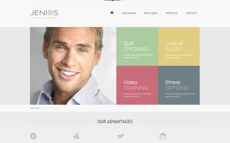 Hypnosis Drupal Template