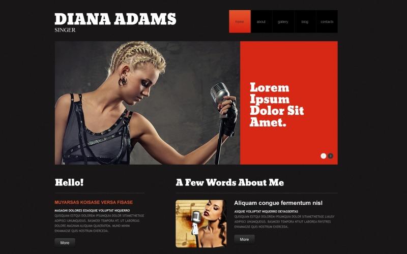 Musiksvarande WordPress-tema