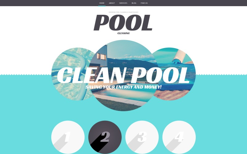 Pool Cleaning Business WordPress Theme