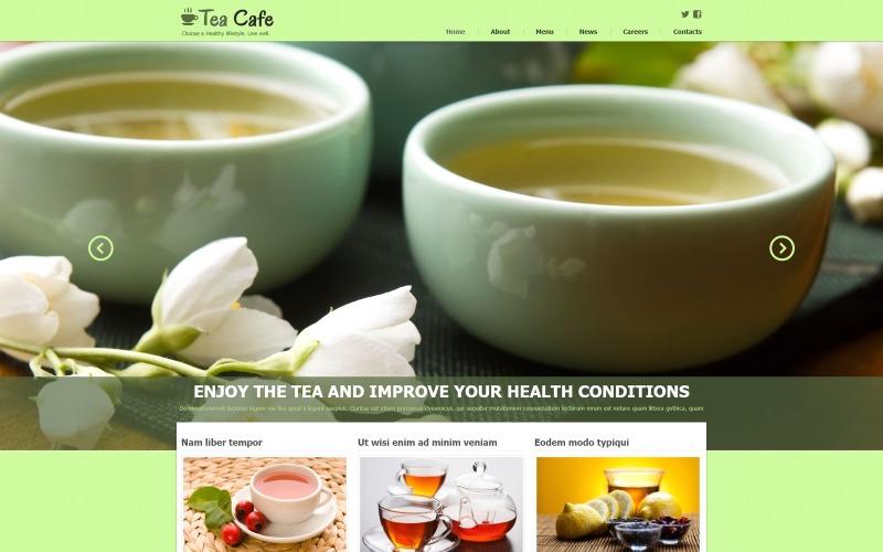 Tea Shop Responsive Joomla-mall