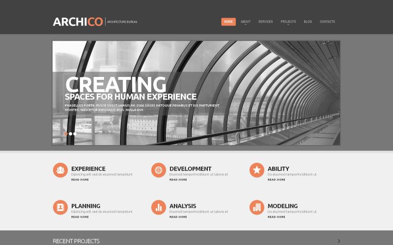 Byggföretag Responsive WordPress Theme