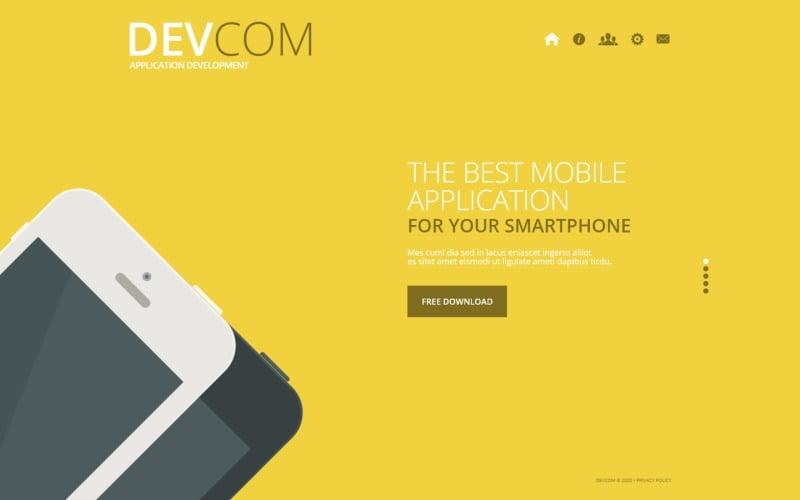 Webbmall för webbutveckling