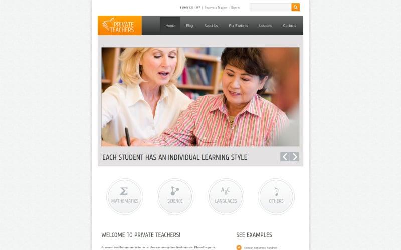 Education Drupal Template