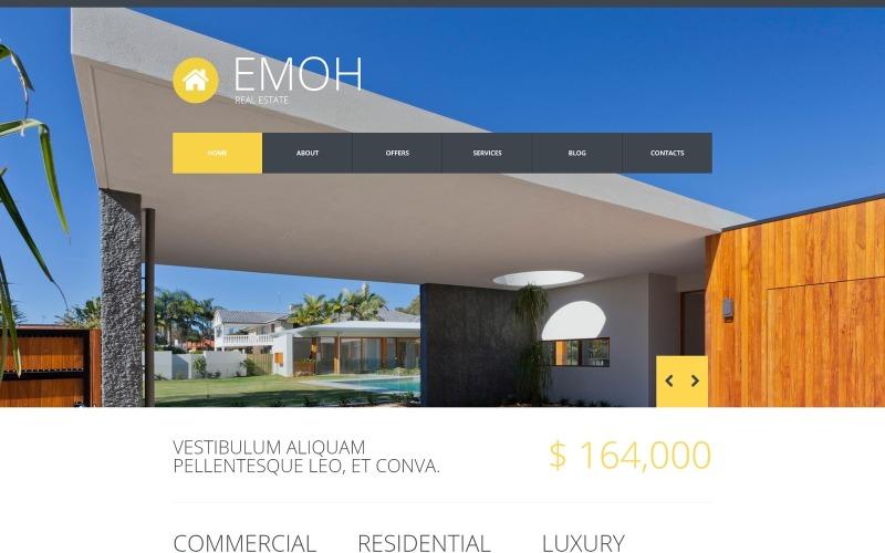 Fastighetsbyrå Joomla-mall