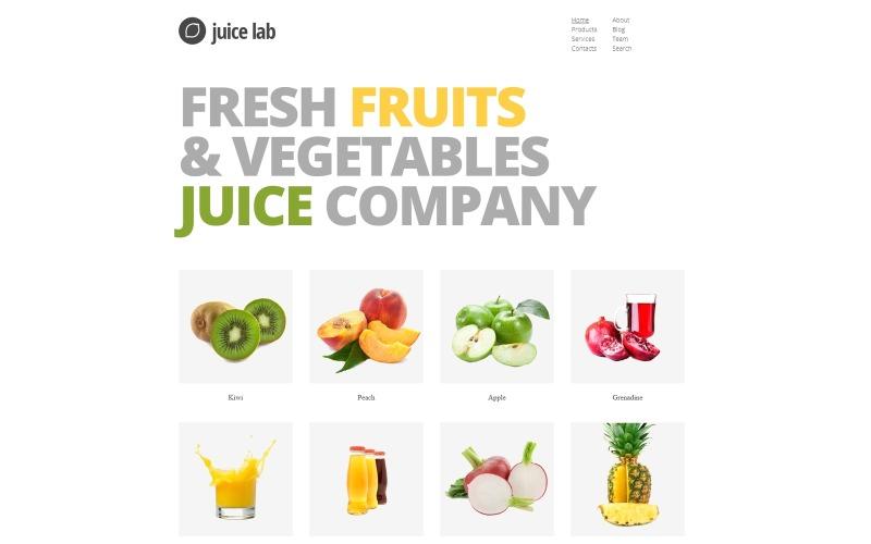 Juice Business Joomla-mall