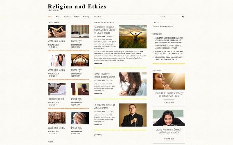 Religiösa nyheter Joomla-mall