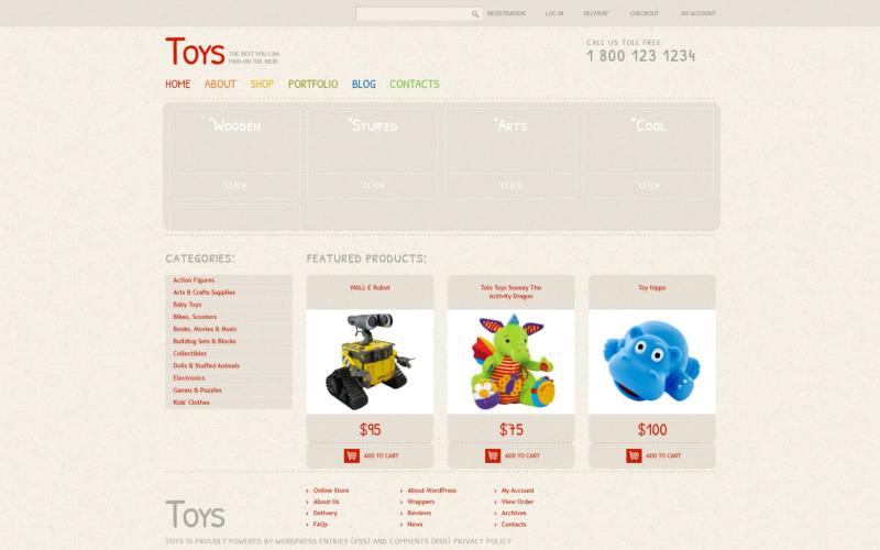 Safe Toys WooCommerce Theme