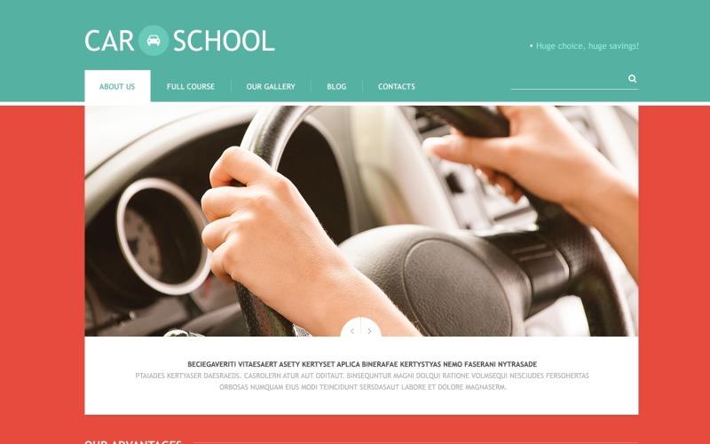 Traffic School Responsive WordPress Theme